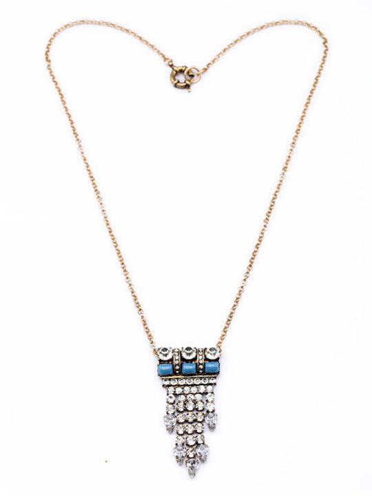 Azteca Pendant Necklace