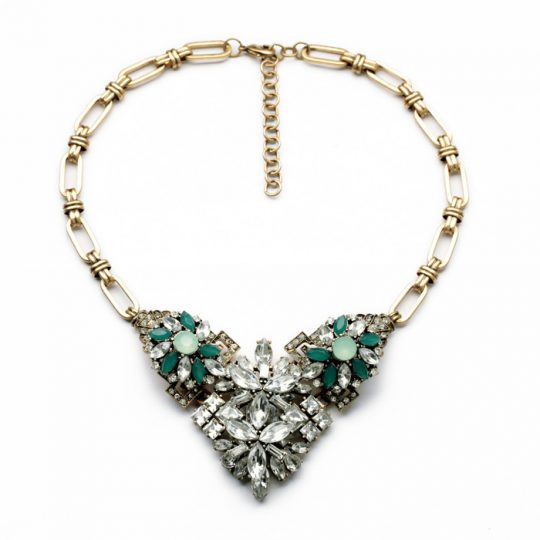 Emerald Stone Necklace 2