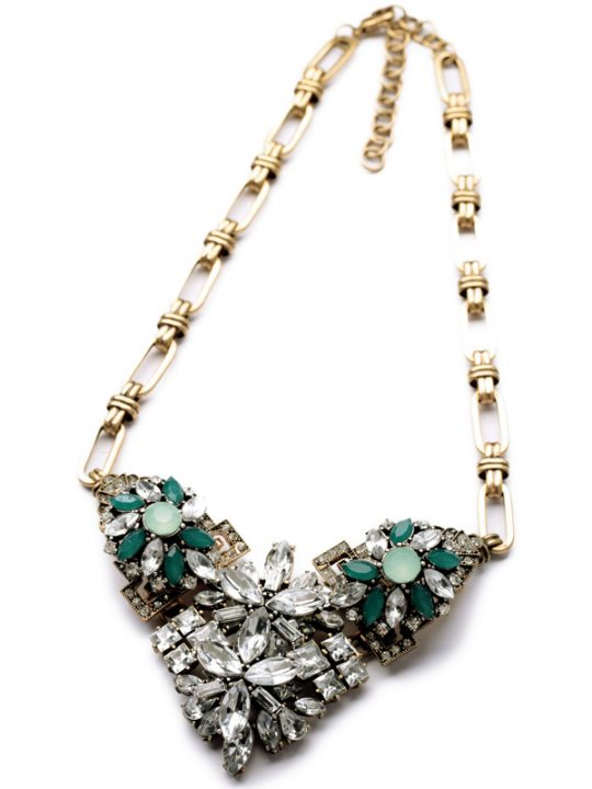 Emerald Stone Necklace 4
