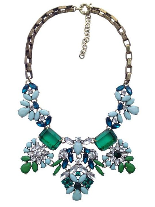 Frosted-Mint-Stone-Necklace