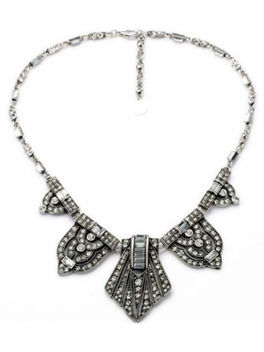 Luxe-Marcasite-Statement-Necklace