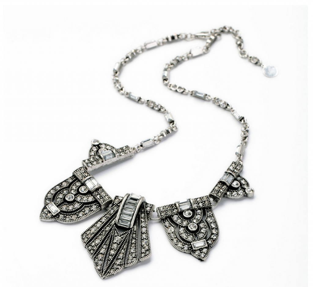Marcasite Statement Necklace 7
