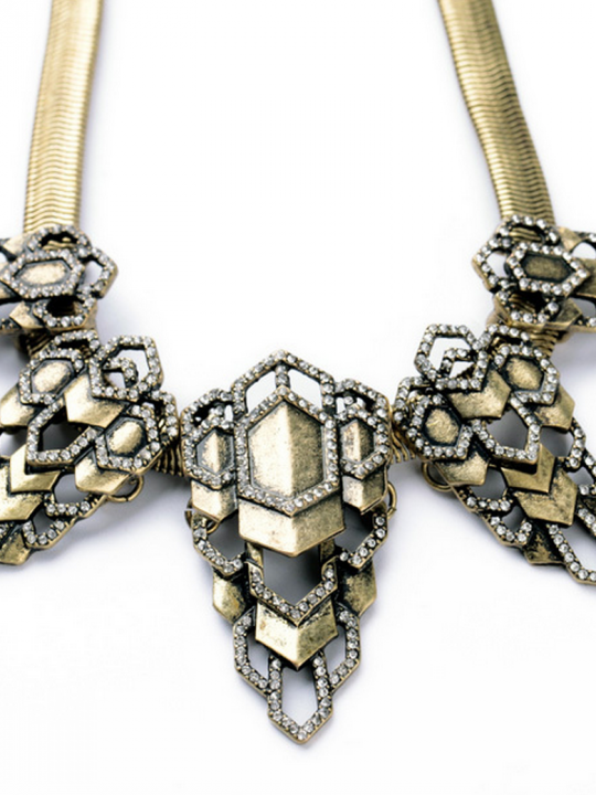 Unique Modern Statement Necklace
