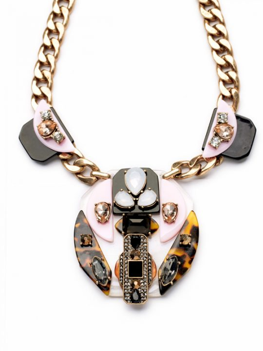 Modernism Statement Necklace 4