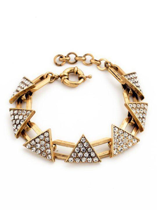 Triangle-Pave-Gold-Bracelet
