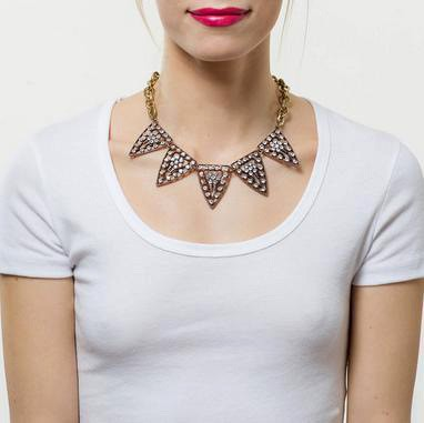 Tribal Crystal Statment Necklace 5