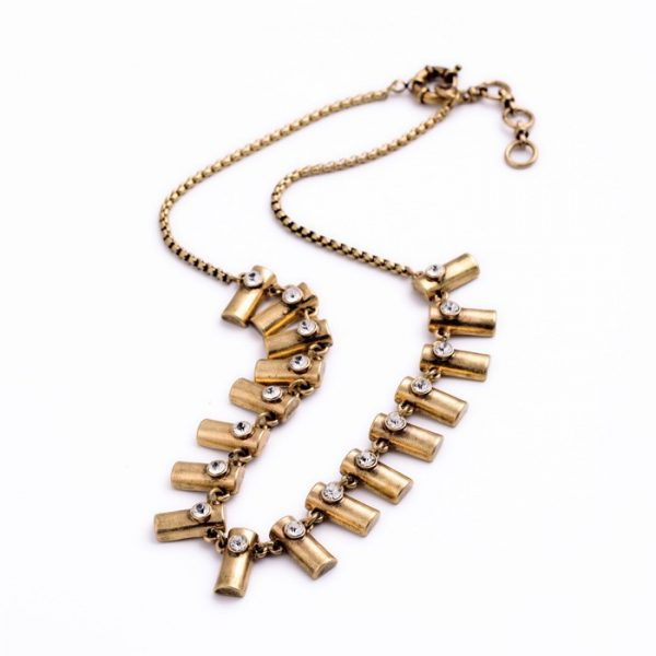 Whistler Brass Necklace 3