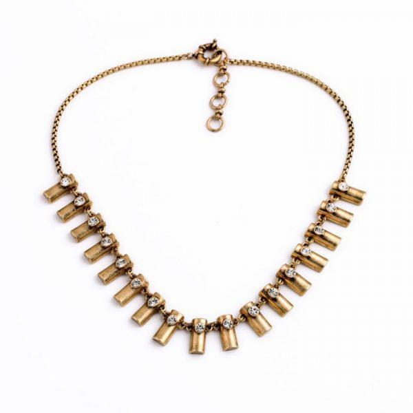 Whistler Brass Necklace