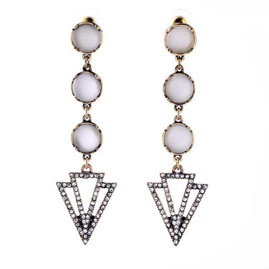 Opaline Drop Earrings 1