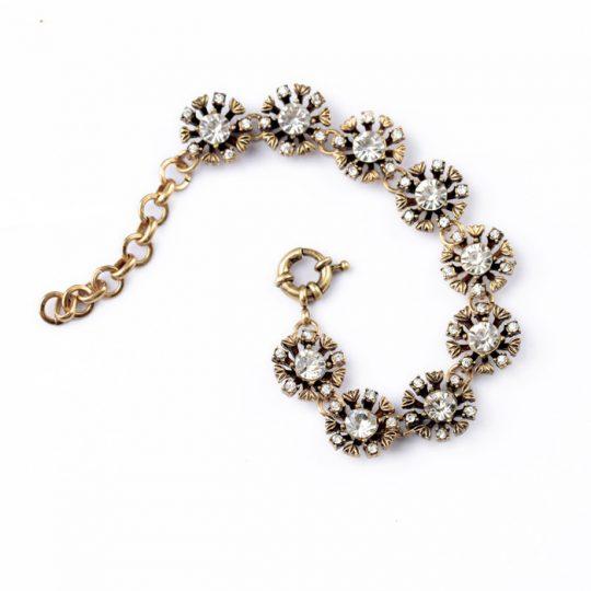 Floret Crystal Bracelet 5