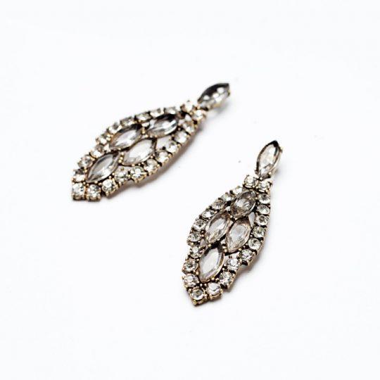 Infinite Crystal Statement Earrings 2