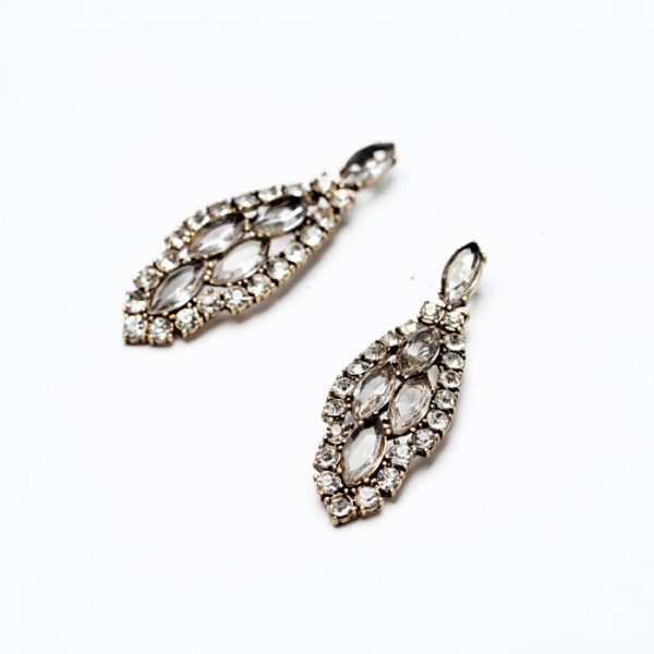 Infinite Crystal Statement Earrings 2