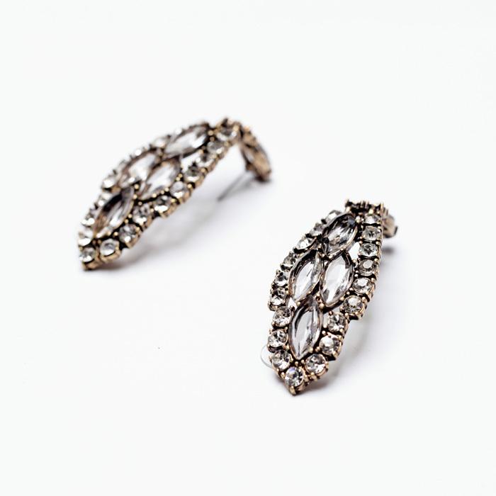 Infinite Crystal Statement Earrings 3