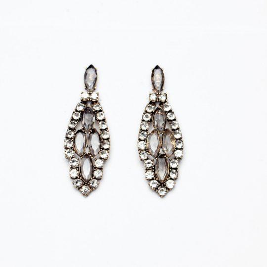 Infinite Crystal Statement Earrings 4