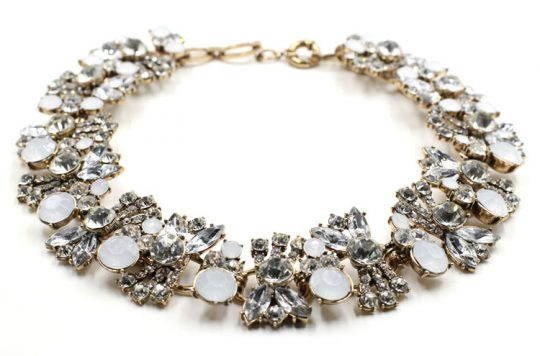 Allure Crystal Bib Necklace 2