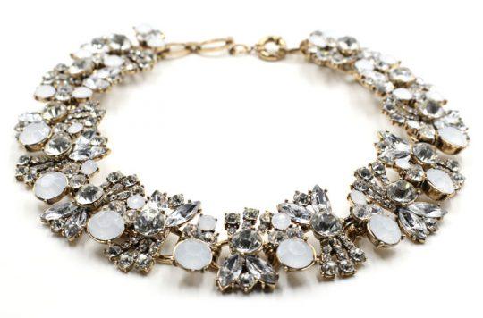Allure Crystal Bib Necklace 2