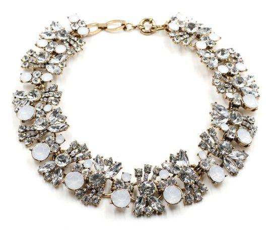 Allure Crystal Bib Necklace 3