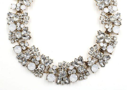 Allure Crystal Bib Necklace 4