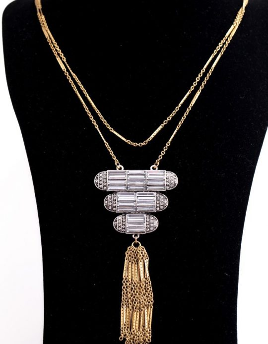 Art Deco Pendant Necklace 1