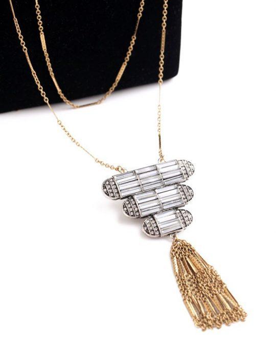 Art Deco Pendant Necklace 2