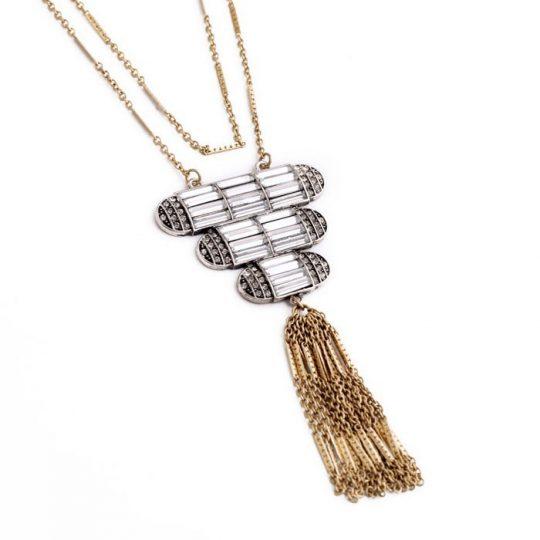 Art Deco Pendant Necklace 4