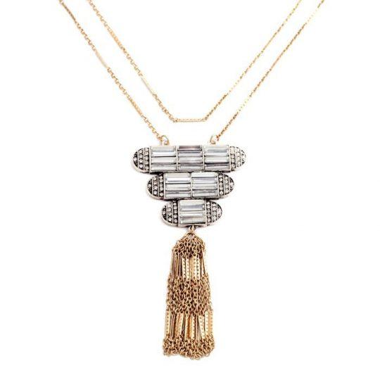 Art Deco Pendant Necklace 8