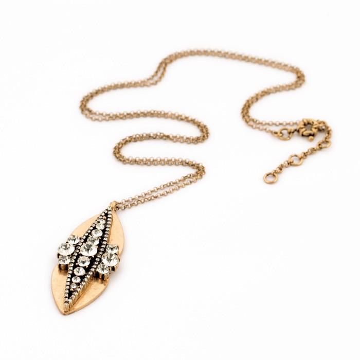 Golf Leaf Pendant Necklace 5