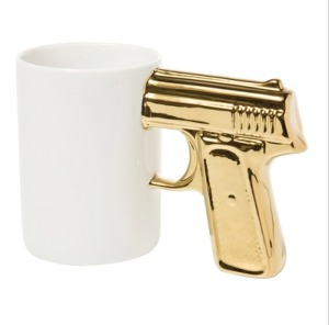 Gun-Mug-White-Gold
