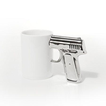 Gun-Mug-White-Silver