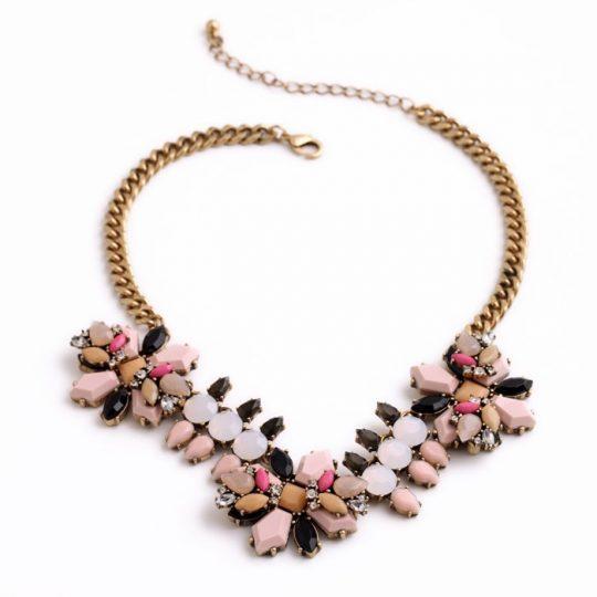Pink Neutral Pendant Necklace 7