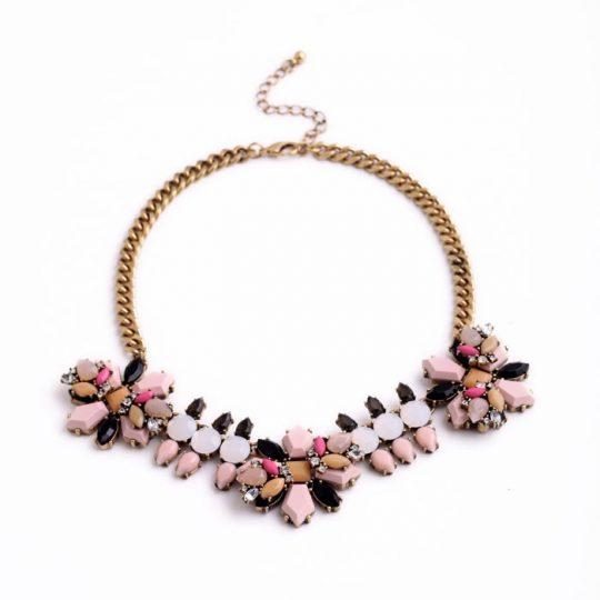 Pink Neutral Pendant Necklace 9