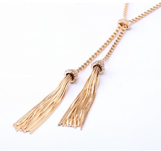Tassel Stone Pendant Necklace 5