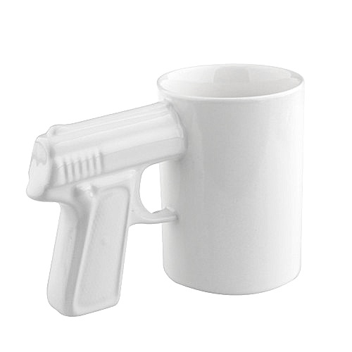 White-Gun-Mug-White-Handle