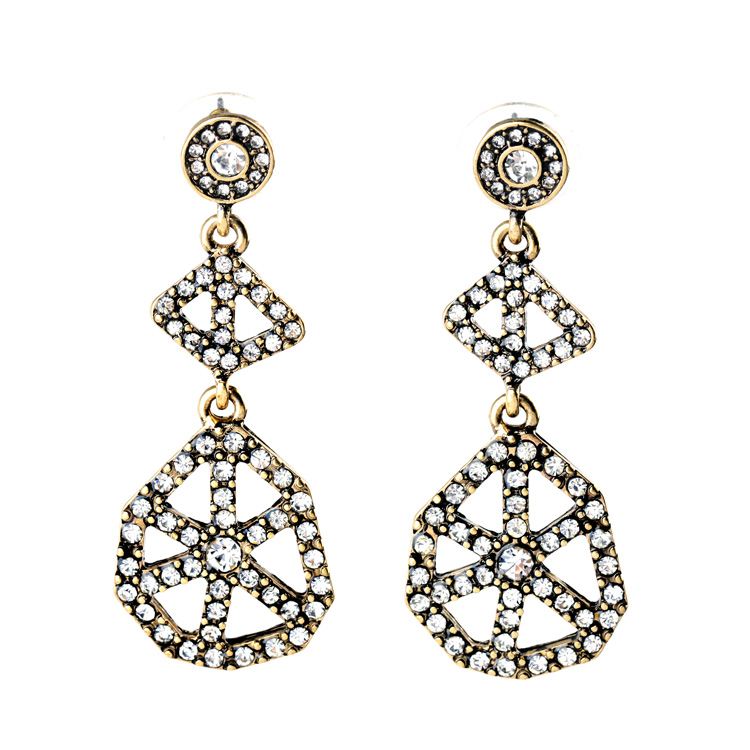 Cirque Crystal Statement Earrings 1