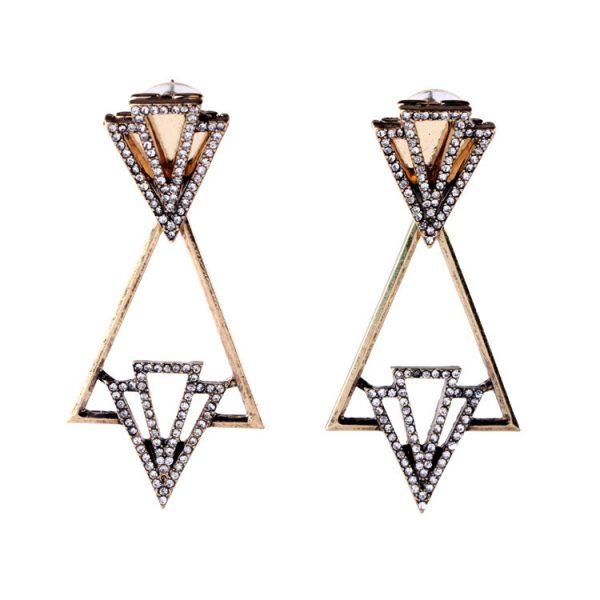 Geometric Drop Earrings 2