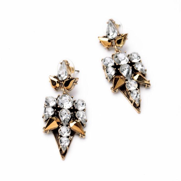 Golden Life Earrings 2