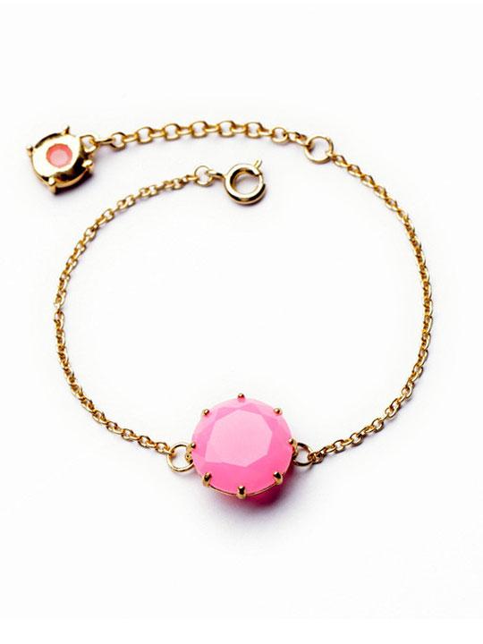 Candy Pink Stone Bracelet
