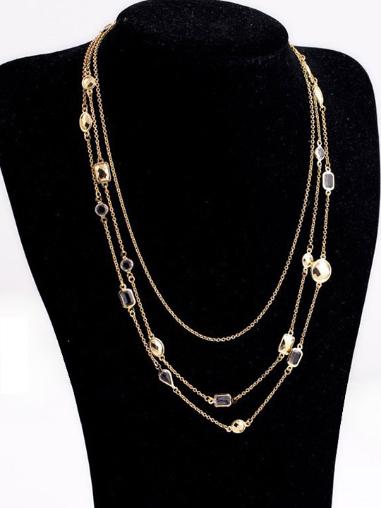 Gold-Stone-3-Tier-Necklace-10