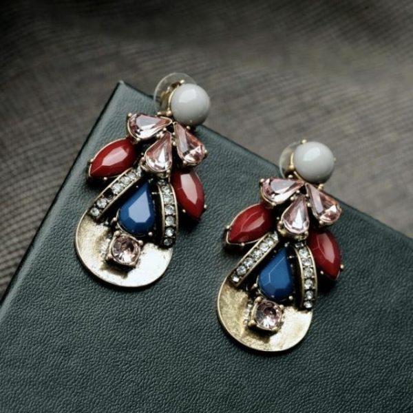 Jubilee Stone Earrings 4