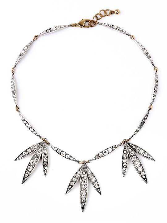 leaflet necklace