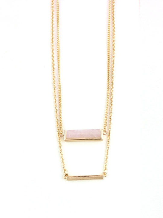Sequence-rose-quartz-layer-necklace
