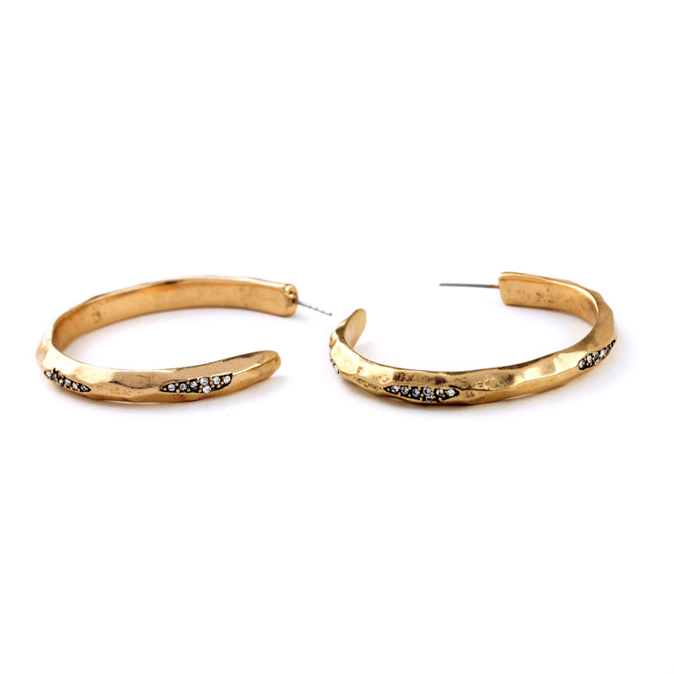 pave stone hoops