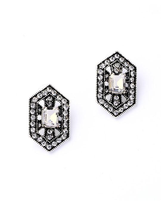 deco luxury earrings