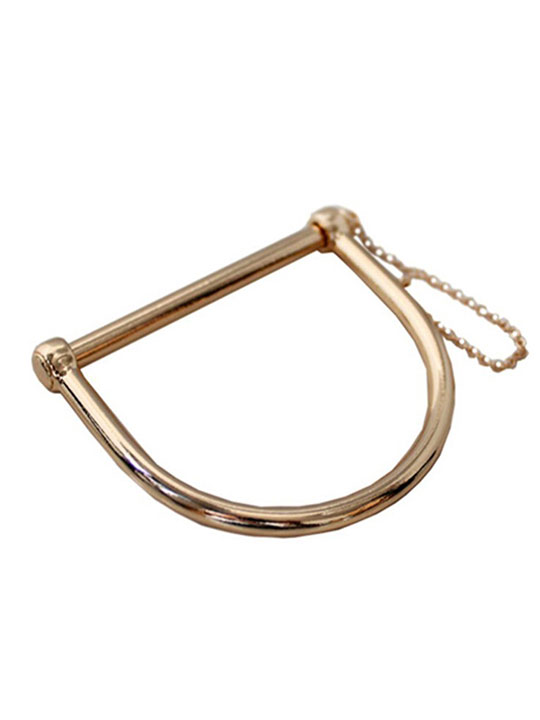 gold bar bangle bracelet