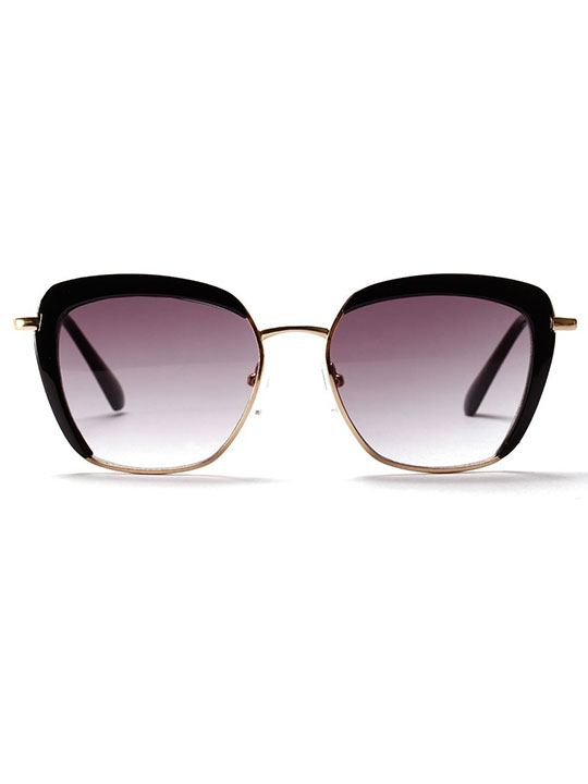black modern sunglasses