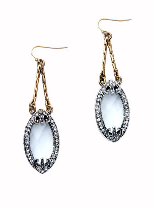 vision drop earrings