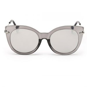 gray transparent mirror sunglasses
