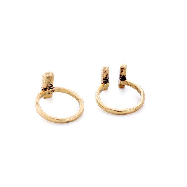 malachite ring set 5