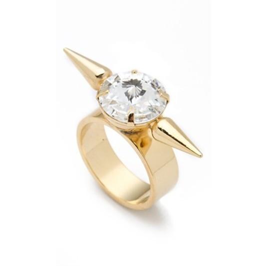 pyramid stone ring 2
