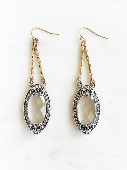modern statement earrings